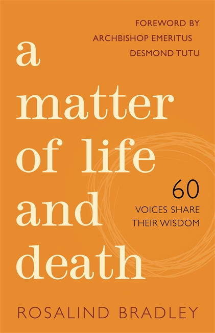 A matter of life and death book cover