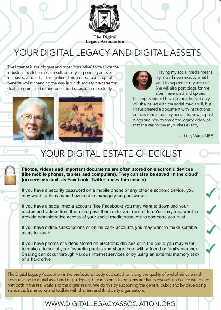 Digital Legacy Poster
